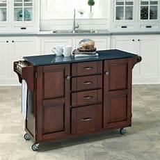 cherry kitchen island cart home styles aspen rustic cherry kitchen island with