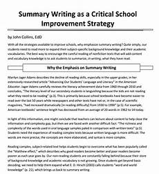 English Summary Example Free 10 Summary Writing Examples Amp Samples In Pdf Doc