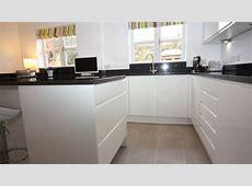 White Contemporary Kitchen, Bromsgrove   Diamond Kitchens Driotwich