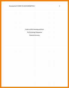 Apa Title Page Format 2020 Apa Cover Page