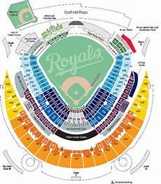 Kauffman Stadium Row Chart Seating Amp Pricing Kansas City Royals