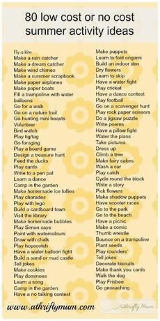 Fun Babysitting Ideas Good Babysitting Ideas 80 No Cost Or Low Cost Summer