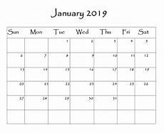Monthly Word Calendar Printable Blank Calendar Free Download Printable