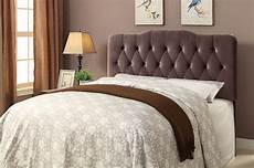 velvet slate upholstered soft shape headboard from