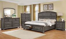 lavonia storage gray king bedroom set my furniture place