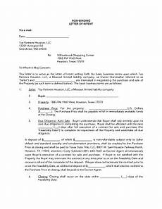 Non Binding Letter Of Intent Non Binding Letter Of Intent Example