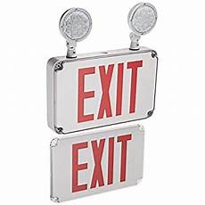 Location Exit Light Combo Morris 73456 Led Location Combo Exit Sign And