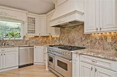 pictures of kitchen backsplashes with granite countertops installing a granite backsplash a or a bad idea