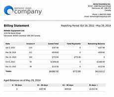 Billing Statement Generate Detailed Financial And Inventory Reports About