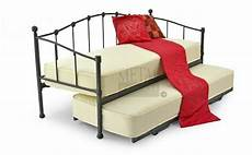 metal beds 2ft6 75cm small single black metal day beds