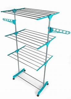 clothes airer beldray la023773tq deluxe three tier clothes airer 15
