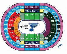 St Louis Blues Seating Chart View St Louis Blues Collecting Guide Tickets Jerseys
