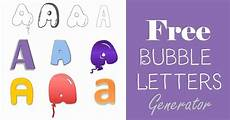 The Alphabet In Bubble Letters Free Bubble Letters Generator Add Bubble Letters With A