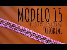 pulsera lineas 187 tutorial como hacer brazalete de hilo