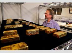 Gold treasure recovered from a 1857 shipwreck is set to