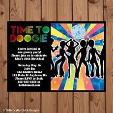 Disco Party Invitations Disco Invitation Disco Party Invitations 70s Disco Party