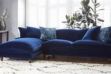 Blue Sectional Sofa 3d Image by Why You Should Probably Buy A Velvet Sofa In 2017 Swoon