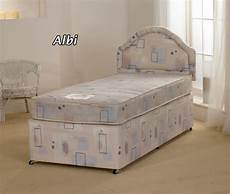 superb value 3ft single albi divan bed with mattress ebay