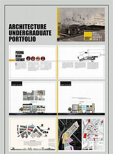 Architecture Portfolio Layout Behance Architecture Undergraduate Portfolio On Behance