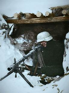 Soldier Hard See The Light Mg 34 Nest In Soviet Winter Facebook Pinterest Nest