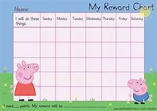 Peppa Pig Sticker Reward Chart Free Peppa Pig Reward Chart Potty Training Reward Chart