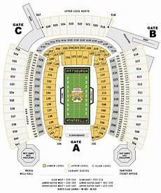 Pittsburgh Steelers Stadium Seating Chart Nfl Football Stadiums Pittsburgh Steelers Stadium