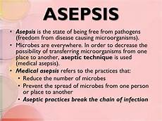 Medical Asepsis Ppt Microorganisms Powerpoint Presentation Id 2188967