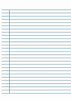 Blank Line Paper Blue Lined Paper Also Great For A Dyslexic Student S