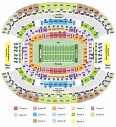 At T Cotton Bowl Seating Chart At Amp T Stadium Tickets In Arlington Texas At Amp T Stadium