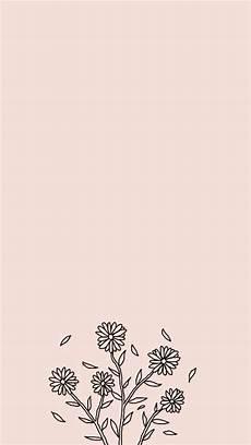 Minimalist Aesthetic Flower Wallpaper by Makemwhyo 176 Wallpaper 176 Iphone