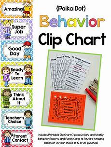 Behavior Clip Chart Template Behavior Clip Chart System And Another Big Sale Mrs