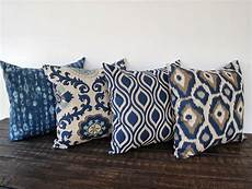 Sofa Pillows 18x18 Set Of 4 3d Image by Throw Pillow Covers 18 Quot X 18 Quot Set Of Four Blue Gray Beige