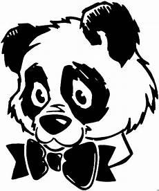Ausmalbilder Tiere Panda Panda Mit Schleife Ausmalbild Malvorlage Tiere