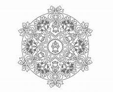 Mandala Engel Malvorlagen Mandala Mit Engel Zum Ausdrucken Und Ausmalen