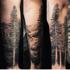 Forest Arm Design 20 Forest Tattoos On Sleeve