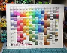 Caliart Markers 100 Color Chart Shinhan Marker Chart Pdf Touch Five Blank Color Chart