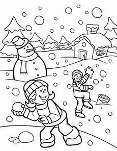 Malvorlagen Winter Gratis Ausmalbilder Winter Zum Ausdrucken Malvorlagentv