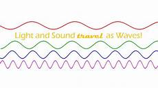 Light And Sound Which Travels Faster Light And Sound Travel As Waves Youtube