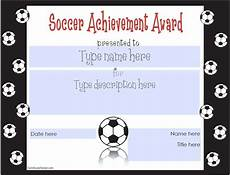 Soccer Certificate Templates For Word 13 Free Sample Soccer Certificate Templates Printable
