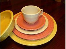 Fiestaware (Ivory, Flamingo, Sunflower)   Fiestaware