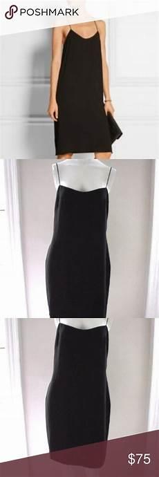 Marchesa Size Chart Marchesa Spaghetti Black Slip Dress Size 6 Black