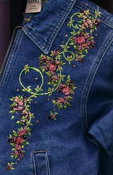 embroidery denim embroidery on denim ideas craft community