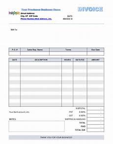 Free Fillable Invoice Free Fillable Invoice Template 10 Results Found