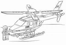 Malvorlagen Polizei Helikopter Ausmalbild Lego Polizei Hubschrauber Ausmalbilder