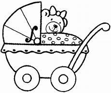 kleurplaat baby in kinderwagen kinderwagen bild zum