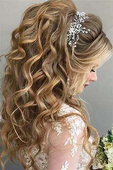 45 half up half wedding hairstyles wedding