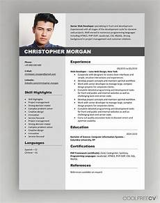 Downloadable Cv Format Cv Resume Templates Examples Doc Word Download