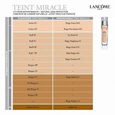 Lancome 24 Hour Foundation Color Chart Lancome Teint Miracle Color Chart Best Hairstyles 2018