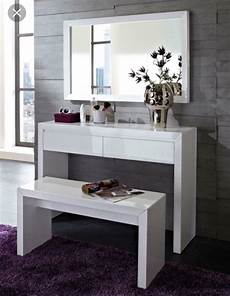 dressing table console table modern desk white high