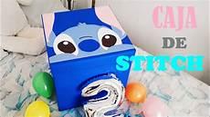 diy caja sorpresa gigante de stitch erandy paz